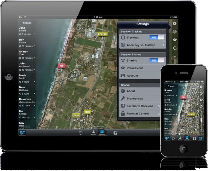 Footprints | Find My Kids Location Sharing App